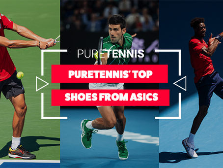 PureTennis' Top Shoes from Asics