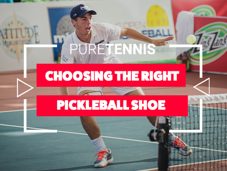 Choosing the Right Pickleball Shoe