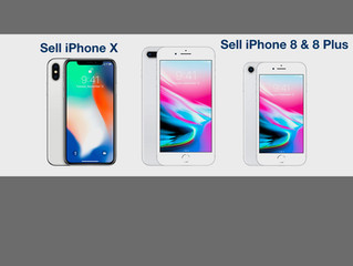 Sell Locked iPhone 8 Plus and iPhone 8