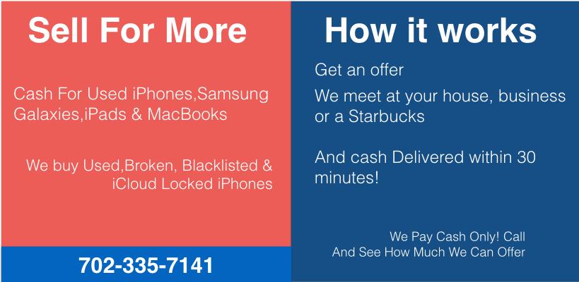Sell iPhone 7 Las Vegas