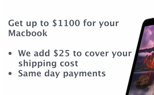 Sell Your Macbook Air