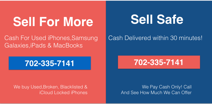 Sell iPhone Las Vegas