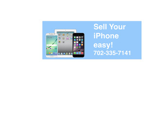 Sell iPhone For Cash Las Vegas
