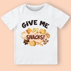 give me snacks mock up