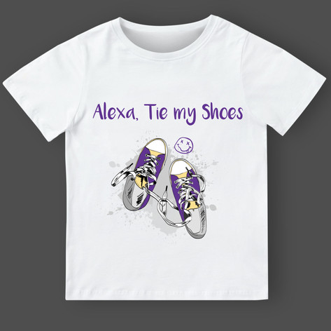 002 Alexa shoes purp-yell