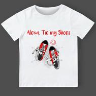 001 Alexa shoes Black-red