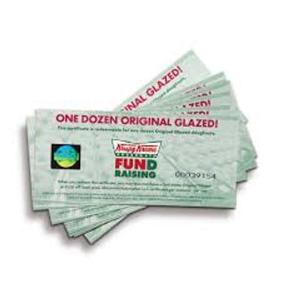 1 Dozen Original Glazed Donut Voucher