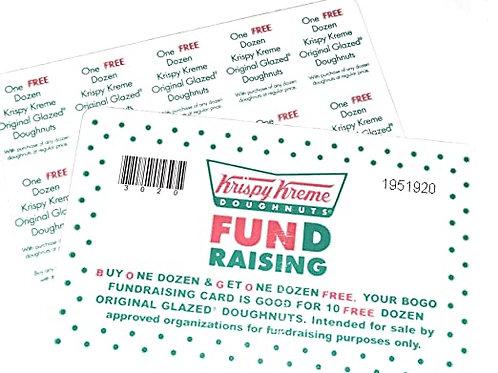 Krispy Kreme BOGO Cards