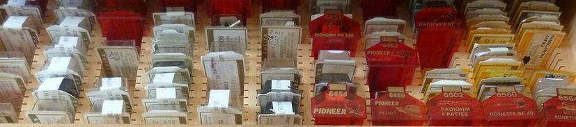 DIamant de rechange et cellule de remplacement pour platine vinyle, chaine hifi, tourne disque et electrophone. 4000 pièces en stoc.