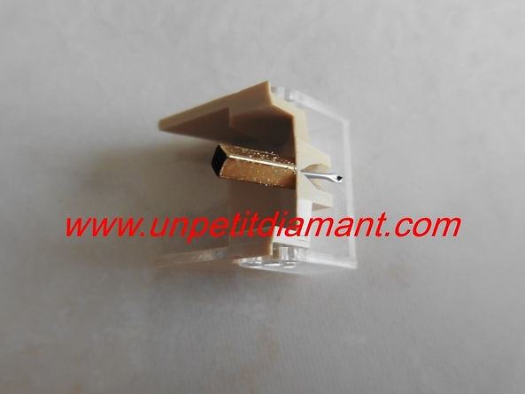MITSUBISHI 3D / 46M DIAMANT DE REMPLACEMENT POUR PLATINE VINYLE NEEDLE DIAMOND STYLUS FOR TURNTABLE AGUJA TOCADISCO PUNTINA GIRADICHI NADEL PLATTENSPIELER TONNADEL