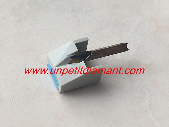 PHILIPS GP400/GP500 DIAMANT DE REMPLACEMENT POUR PLATINE VINYLE NEEDLE DIAMOND STYLUS FOR TURNTABLE AGUJA TOCADISCO PUNTINA GIRADICHI NADEL PLATTENSPIELER TONNADEL