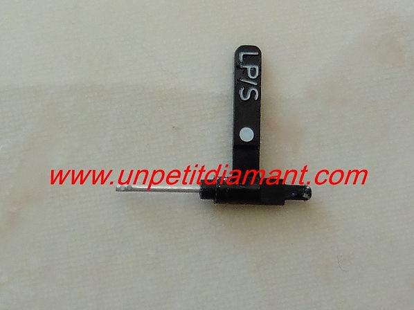 ACOS GP104 diamant et saphir pour platine vinyle, puntina, needle, diamond, stylus
