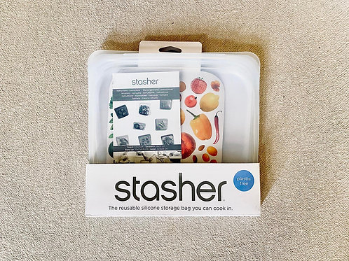 Reusable Stasher silicone bag