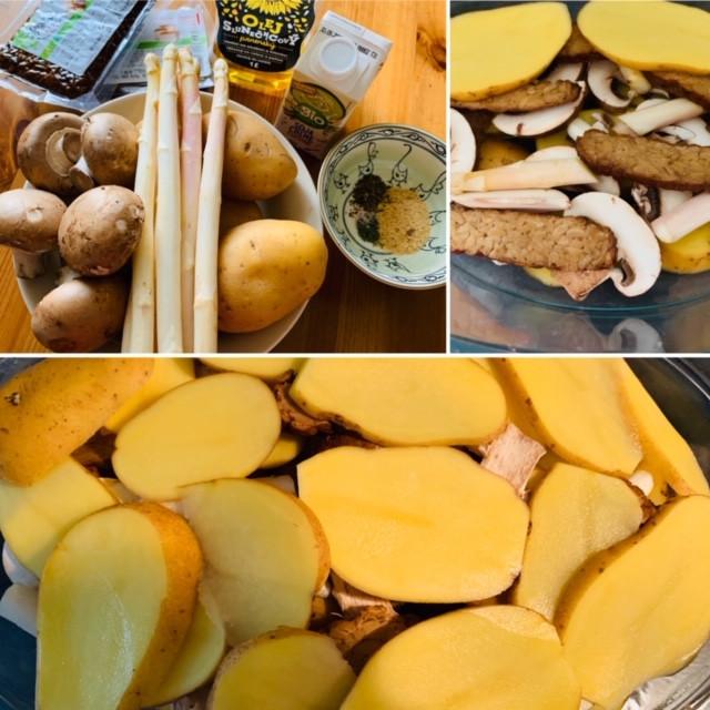 Pure vegan recipe | how to make a French creamy potato?