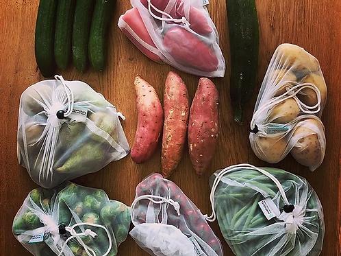 Reusable produce bags - 8 bags