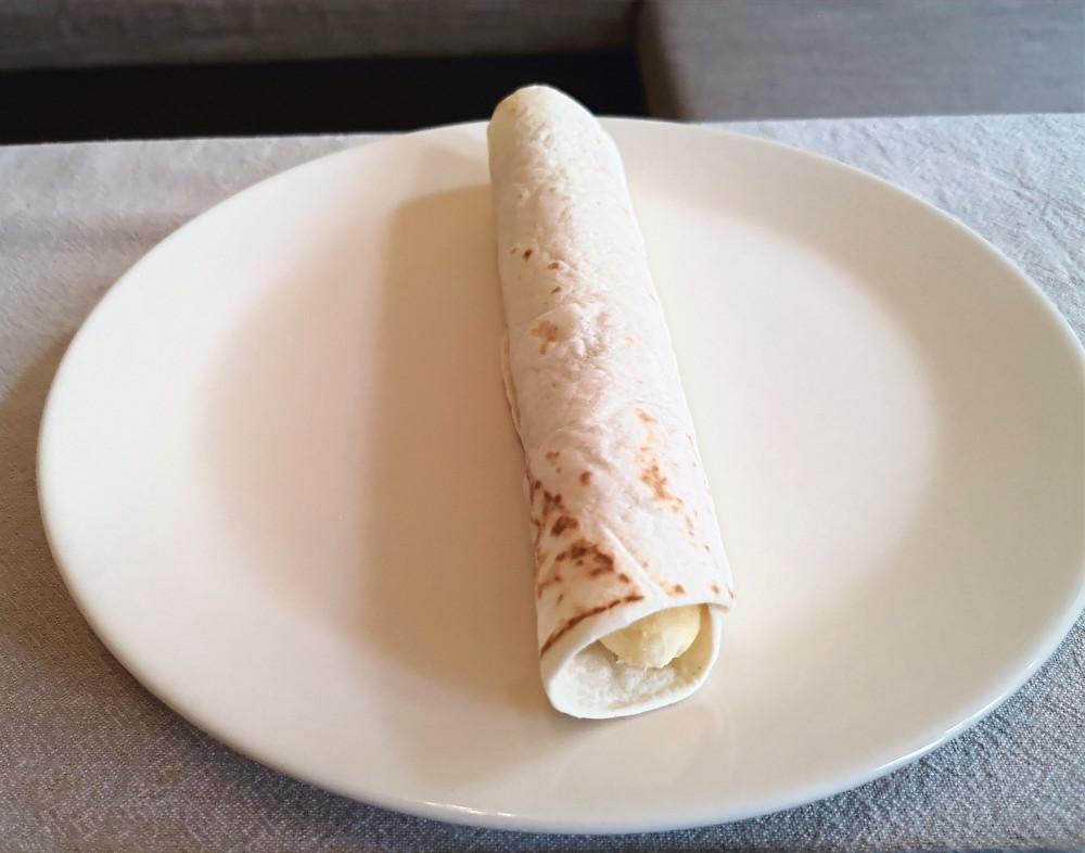 Pure vegan recipe | tasty vegan dessert | Crispy Banana Roll