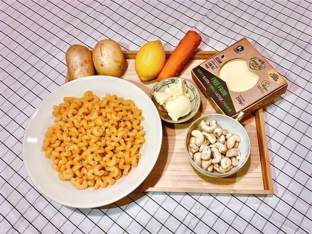 How to keep a healthy vegan lifestyle? | Igredients pure vegan mac and cheese pasta recipe