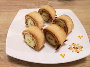 Crispy Banana Roll