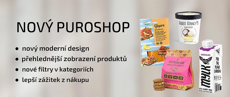 In Prague there's a Puroshop where you can find the vegetarian and vegan products, for example vegan's from Germany. They also have onions and garlic free food. In puroshop, they also have their homemade pure vegan recipe.