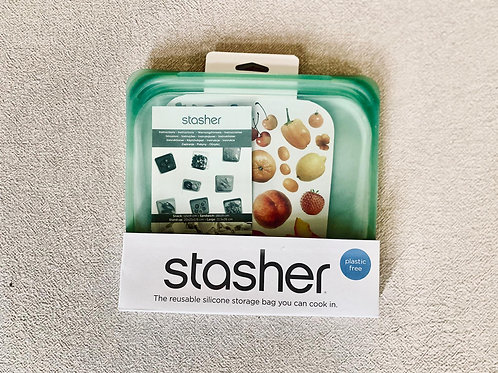Reusable Stasher silicone bag Agave