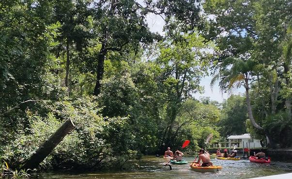 Weeki Wachee canoe rental