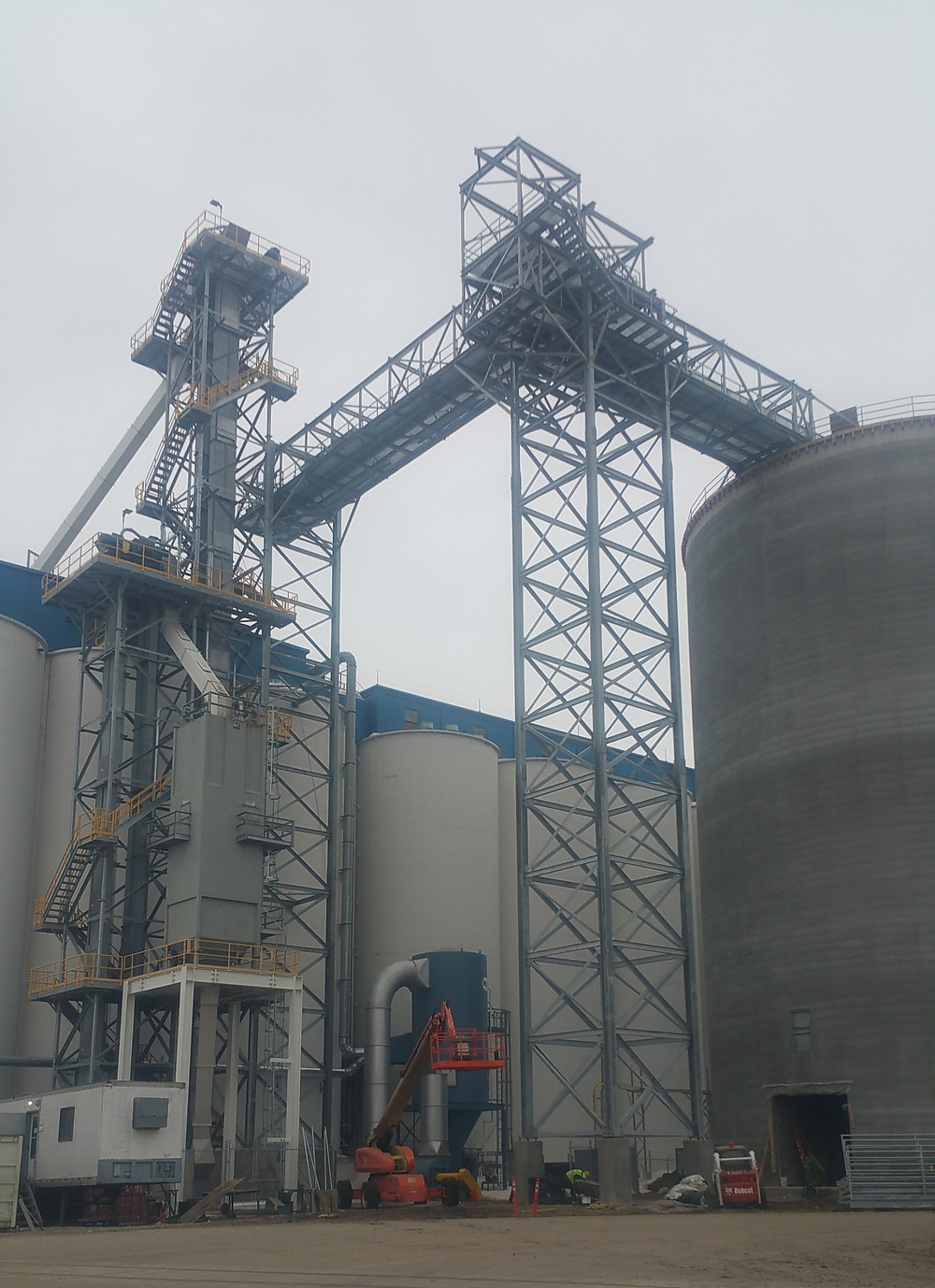 Pellet Transfer Tower Structure
