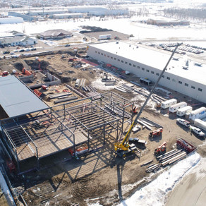 Aldevron Expansion Steel Progress