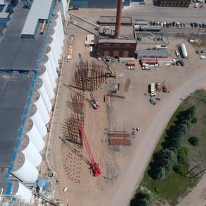 North Dakota Mill - Silo Construction
