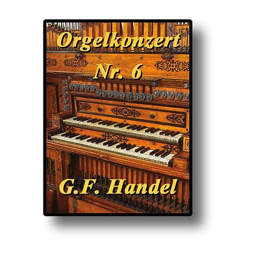 Orgelkonzert Nr. 6 - quartets