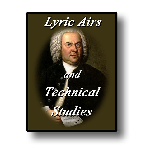 Lyric Airs and Technical Studies - full set