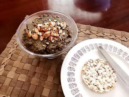 Terrine de champignons, lentilles et amandes