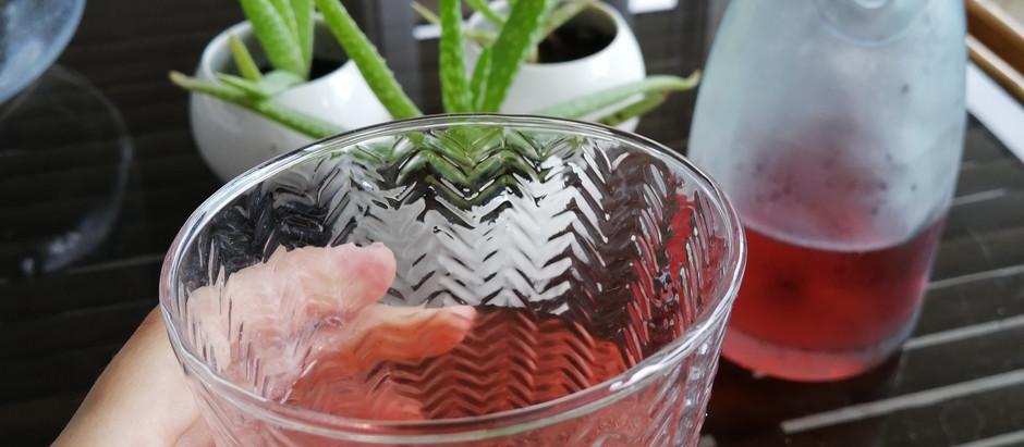 Thé glacé aux fruits rouges, sans sucres ajoutés