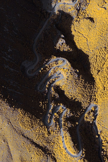 col espigoulier infrarouge vue du ciel road infrared klape aerial