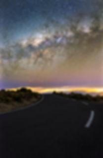 la réunion maido voie lactée route nuit