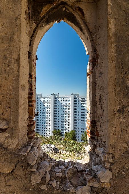 marseille rouvière super ruine 13009 architecture