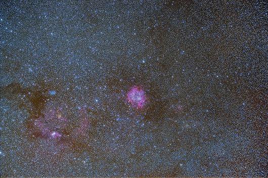rosette nébuleuse nebula astrophotography astrophoto nightsky stars milky way klape photo corse nikon
