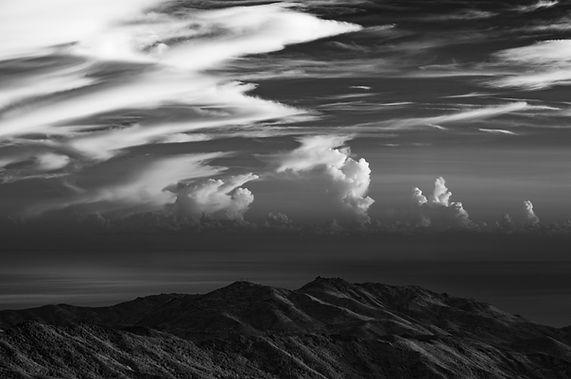 punta bozzo di borgo ajaccio ajacciu sommet cumulus corse klape infrarouge cervellu
