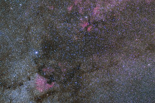 ngc 7000 north america nebula astrophoto corse cygne constellation