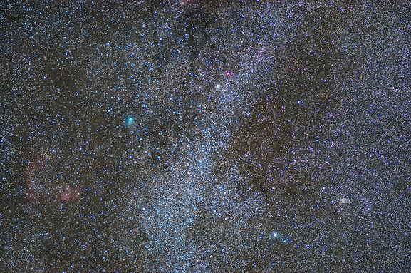 comet comète jacques astro 2014 klape voie lactée milky way astrophotography