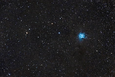 iris nebula nebulae nébuleuse astrophoto klape stars milky way france corse