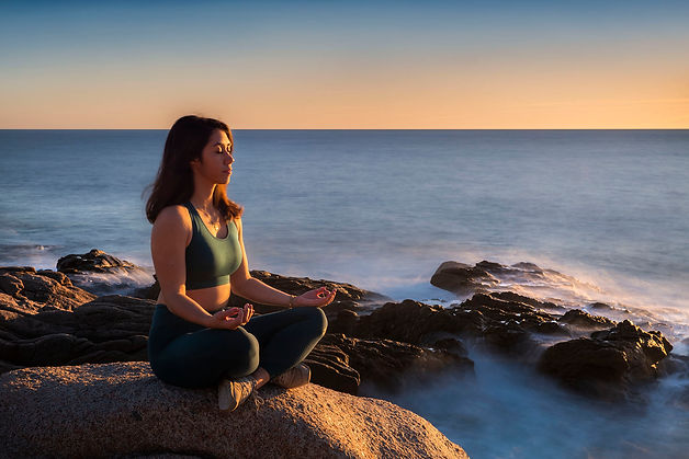Portrait klape corse photo shooting nature yoga ajaccio prestation