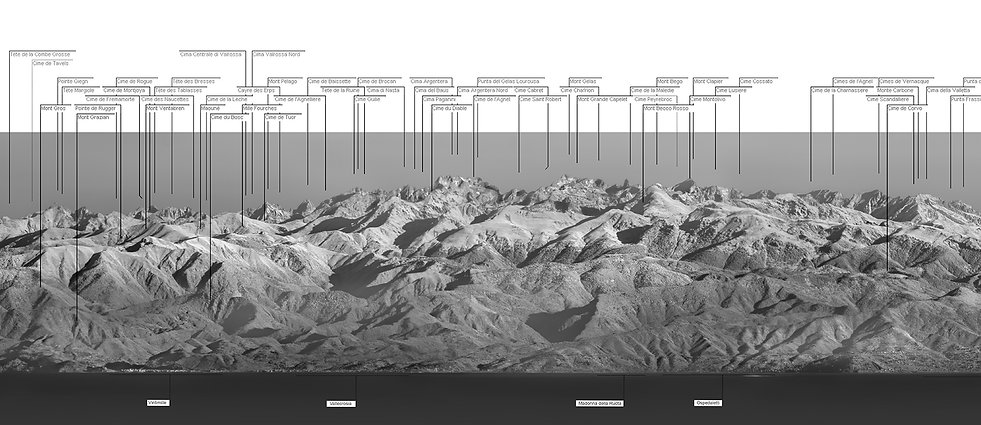 klape monte cinto panorama corse vue continent alpes monaco nice mont toulonnais visibilité infrarouge