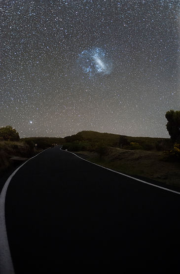 magellanic cloud la réunion maido nuage magellan route road nature astrophotography