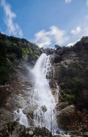 voile de la mariée corse ajaccio cascade eau parc regionale corse nature