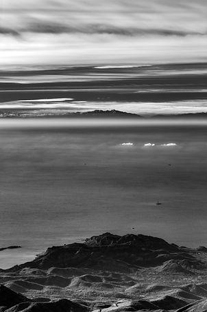Canigou Marseilleveyre vue de ciel marseille infrarouge pyréenne