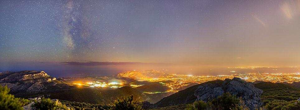 marseille carpiagne mont voie lactée luminy calanques 13 puget étoiles