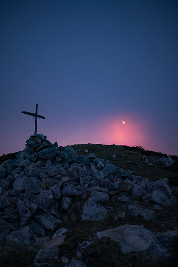 croix cervellu corse soccia klape monte tretorre coucher soleil