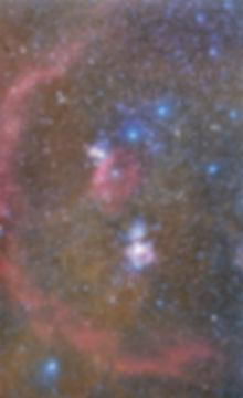 la réunion orion astrophoto barnard loop horsehead flame