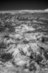 klape mont blanc vue du ciel infrarouge avion ligne
