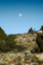 Mont puget calanque lever lune ciel bleue nature marseille klape